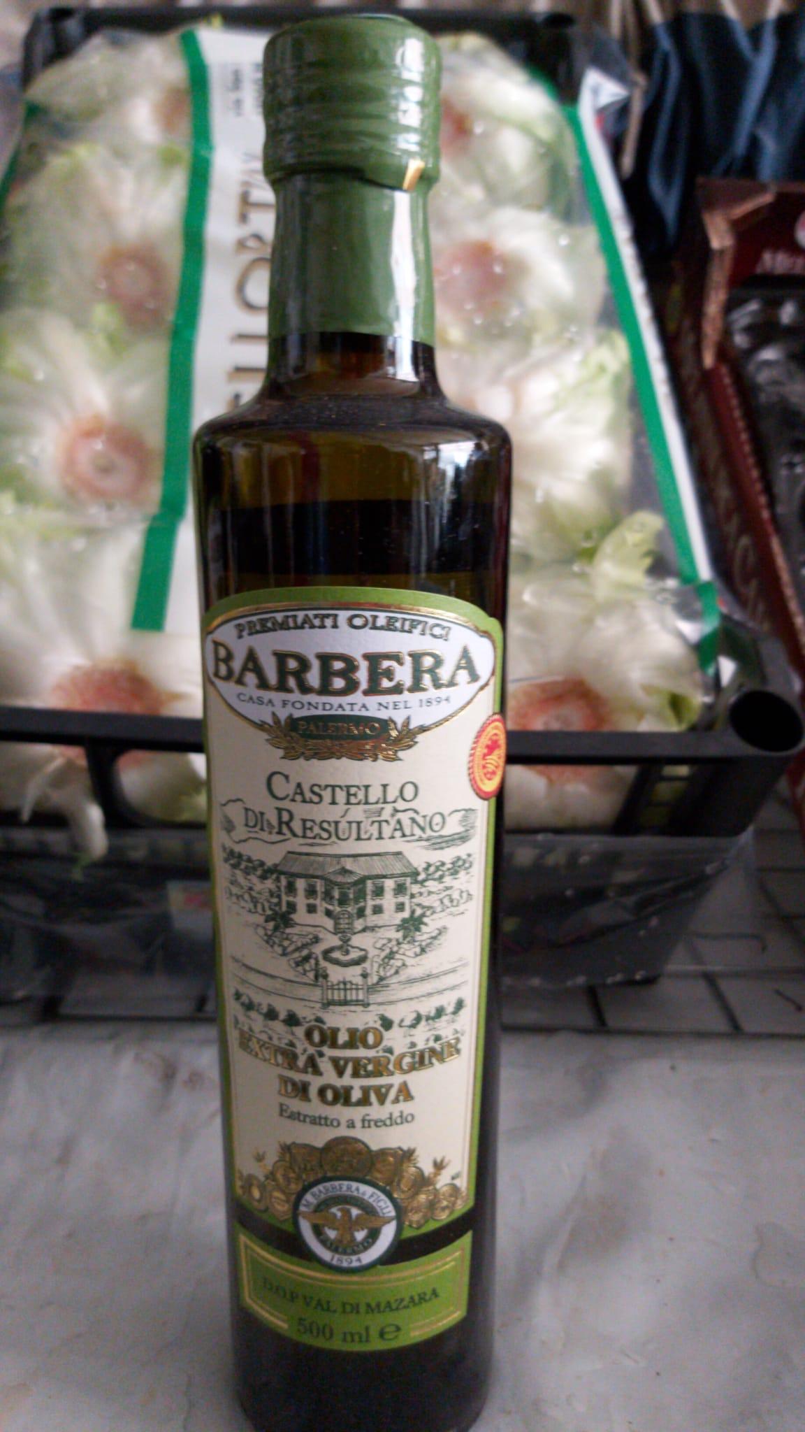 olio extra vergine di oliva D.O.P VAL DI MAZARA