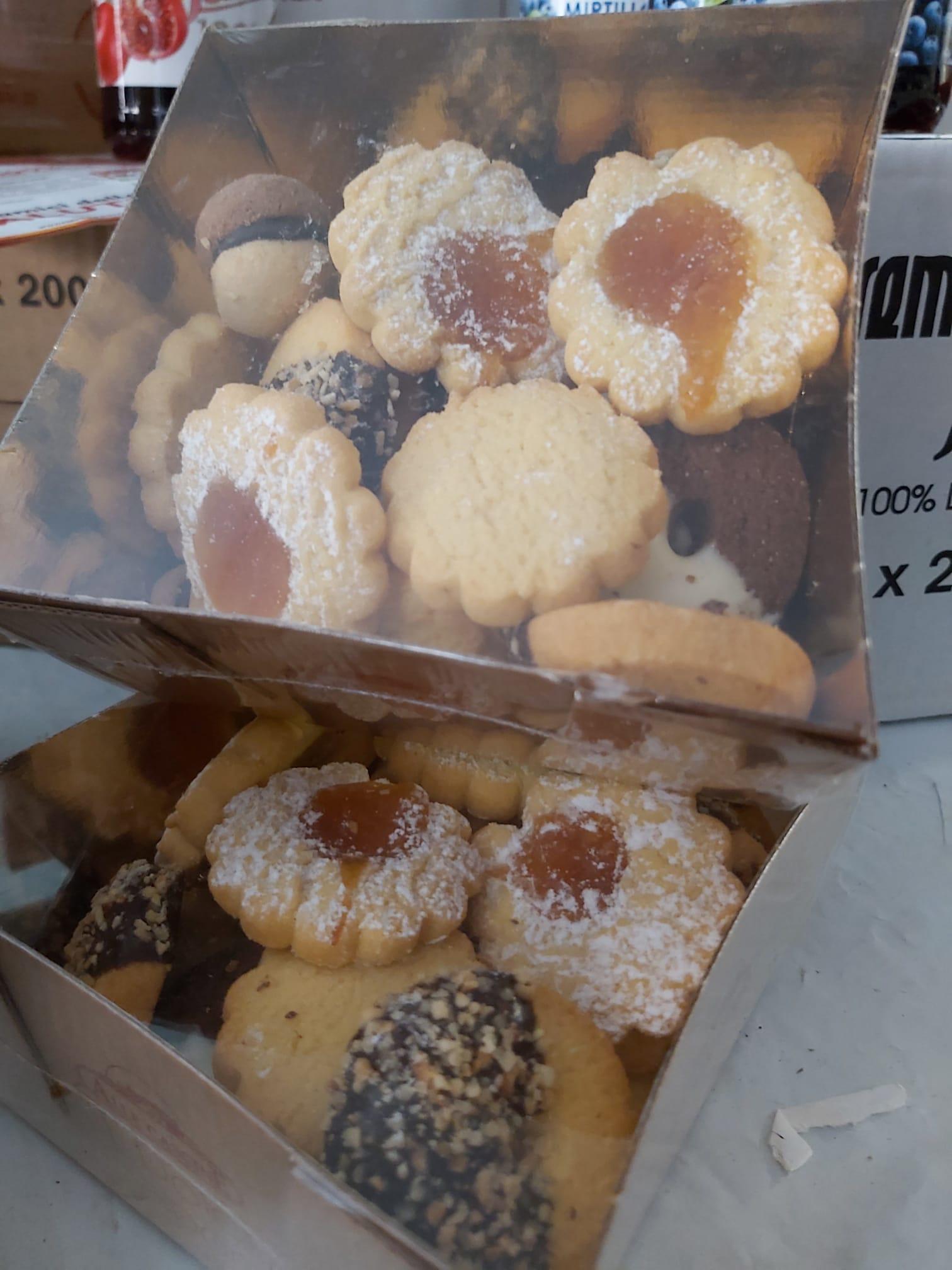 Biscottini misti di alta pasticceria