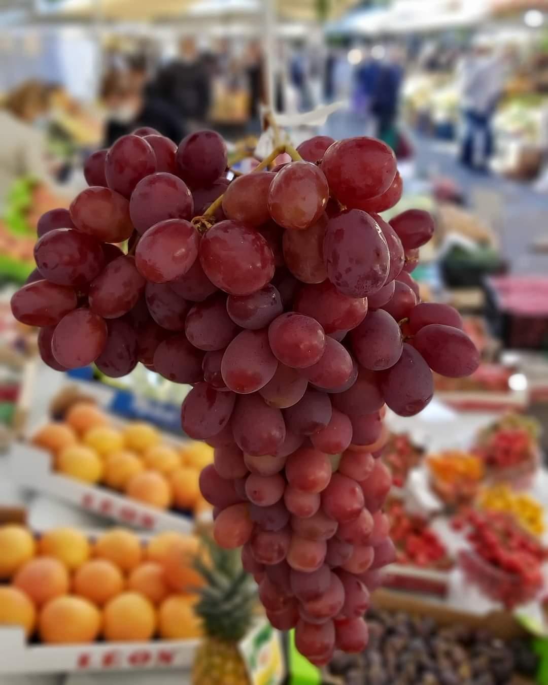uva rosè senza semi dolce e croccante